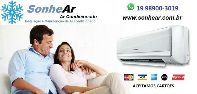 Ar condicionado Instalação manutenção Campinas Americana Regiao