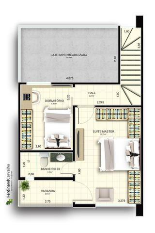 ST Casa duplex na planta - Foto 5
