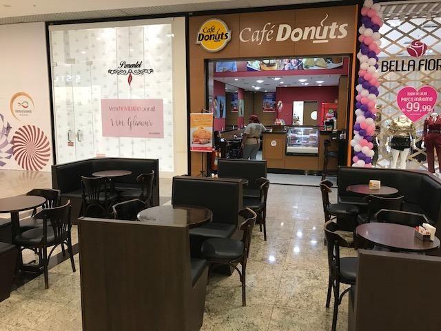Cafeteria em Shopping