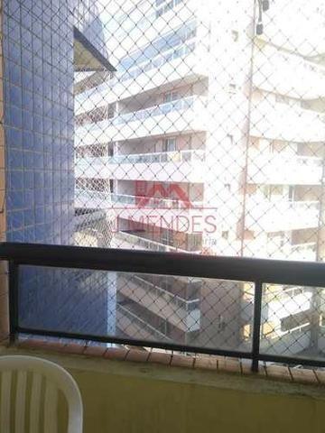 REF. 2972- Apartamento de dois dormitórios , sacada , vista mar lateral!!! - Foto 3