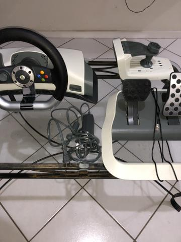 Xbox 360 + volante do 360 - Foto 6