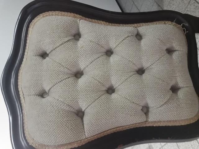 Conjunto Clássico De Mesa C/ Tampo De Vidro e 6 Cadeiras - Foto 6