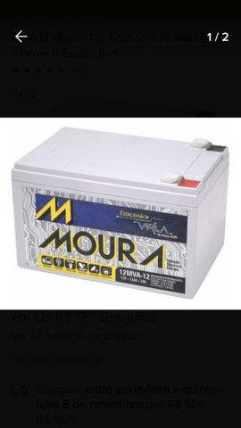 Bateria Nobreak Moura 12 Mv-12 20h (12v-12ah) semi nova