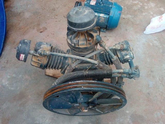 Compressor de ar alta pressão 60 pcm 425 litros - Chiaperini CJ 60+ AP3V 425L<br> - Foto 4