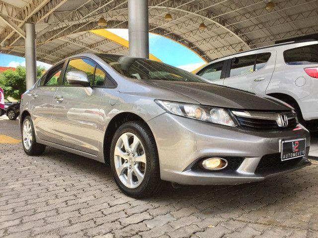 Honda Civic EXS 2013 1.8 Automático - Com Teto Solar - Foto 3