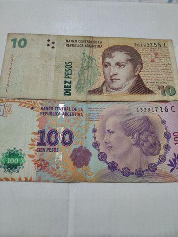 110 pesos argentino