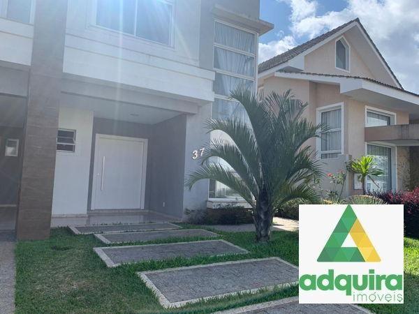 Casa em condomínio com 4 quartos no Condomínio Veneto - Bairro Oficinas em Ponta Grossa - Foto 2
