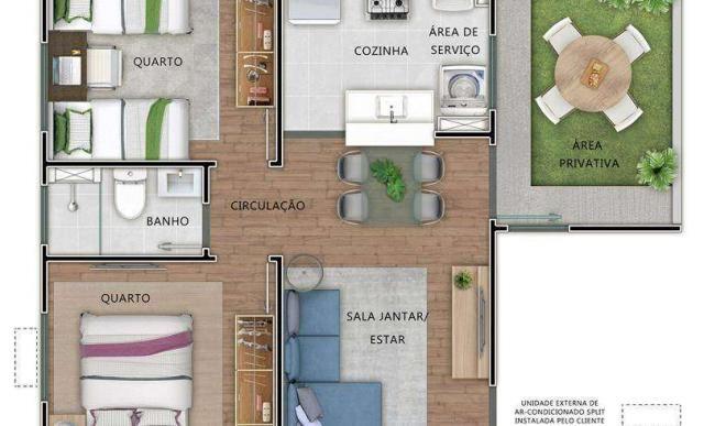 Norte Boulevard Residencial - Apartamento 2 quartos em Natal, RN - 47m² - ID3946 - Foto 9