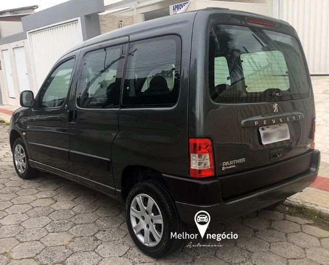 Peugeot Partner Van 1.6 5P Flex Cinza - Foto 6