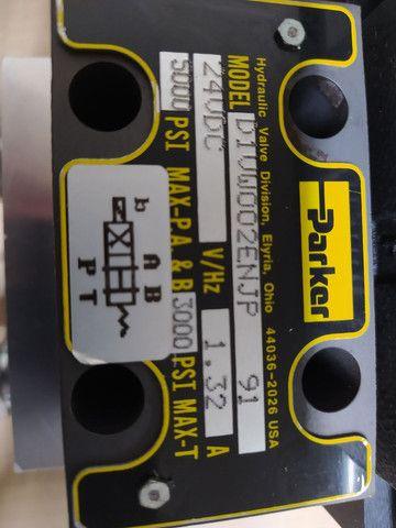 Bloco de hidráulico montado parker - Foto 2