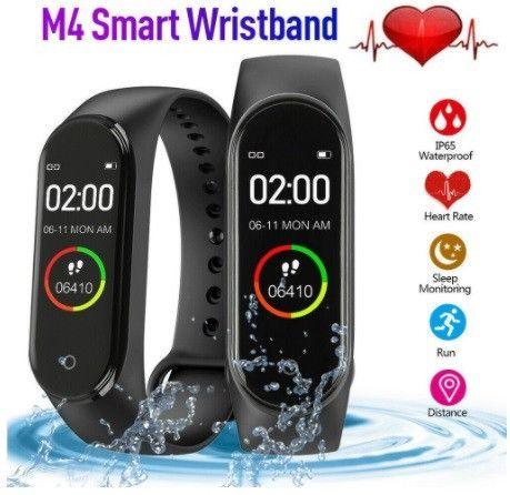Relógio Inteligente tipo mi band M4