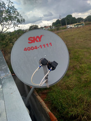Receptor e instalação de antena - Foto 2