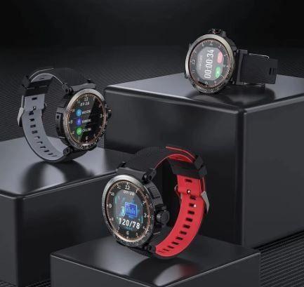 Blitzwolf BW-AT1 - Smartwatch - Novo na Caixa - Preto - 1 Unidade - Foto 2
