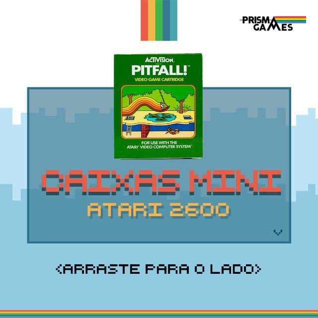 Caixa Mini Para Jogos - Atari 2600