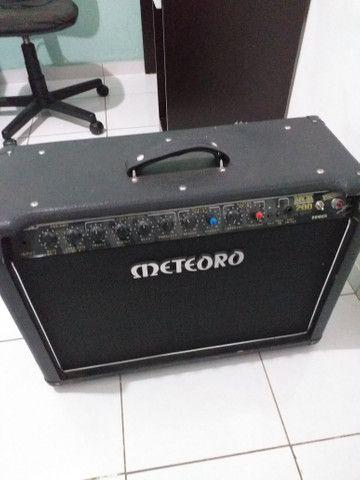 Vendo amplificador de guitarra! meteoro mck 200w amdreas kisser - Foto 4
