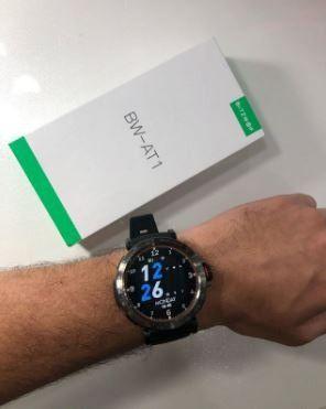 Blitzwolf BW-AT1 - Smartwatch - Novo na Caixa - Preto - 1 Unidade - Foto 4