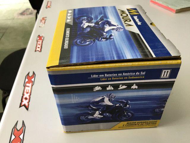 Bateria Moura para motos ma8,6-e hornet R1 cb1000com entrega em todo Rio - Foto 2