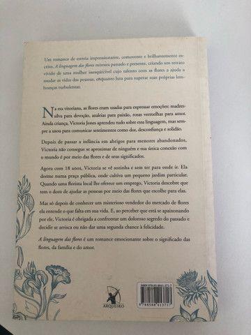 Livro: a linguagem das flores (Vanessa Diffenbaugh) - Foto 2