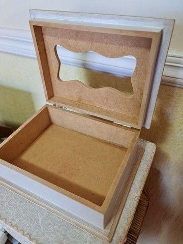 Porta caixa de lenços Novo - Foto 3