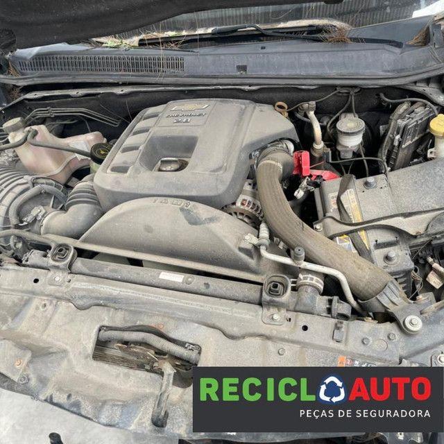 Sucata de s10 2016 diesel  4x4  - Foto 8