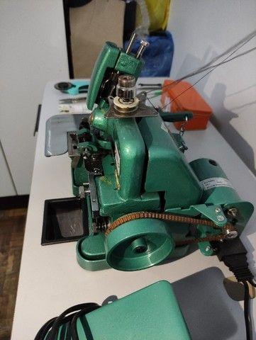 Máquina De Costura Overloque Semi Industrial Flawil + Mesa p/ Costura (GN1-6D) - Foto 4