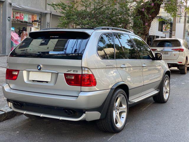 BMW X5 4.4 SPORT  TOP V8 ÚNICO DONO - Foto 4