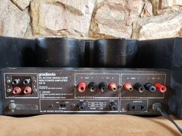 Amplificador Gradiente HA II - Foto 6