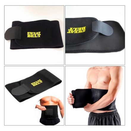 Cinta Modeladora Sweat Belt Fitness Crossfit yoga  - Foto 4