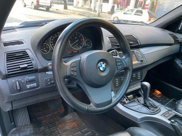 BMW X5 4.4 SPORT  TOP V8 ÚNICO DONO - Foto 12