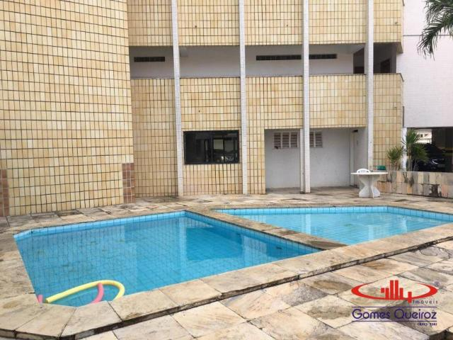 Apartamento com 3 dormitórios para alugar, 129 m² por R$ 1.400/mês - Dionisio Torres - For - Foto 3
