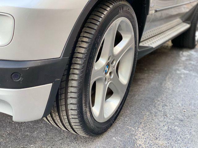 BMW X5 4.4 SPORT  TOP V8 ÚNICO DONO - Foto 20