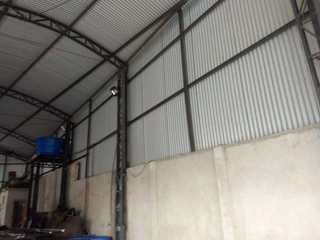 Vendo barracão de estrutura metálica - Foto 4