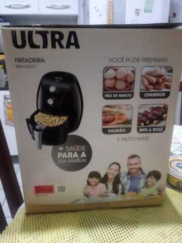 Fritadeira elétrica sem óleo Ultra - Foto 3