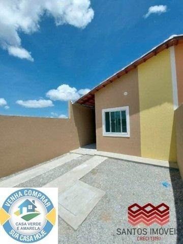 WG Casa Popular entrada a partir de 2.000*, 2 quartos, 1 banheiro social, Garagem. - Foto 2