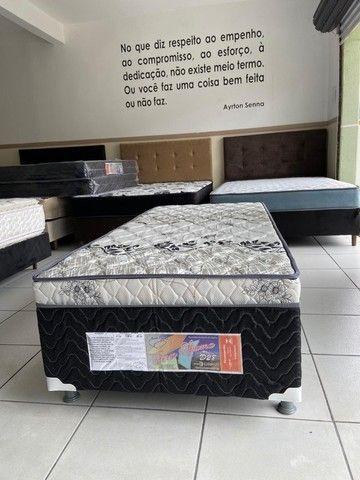 cama solteiro conjugada nova - Foto 3