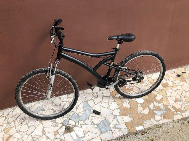 Vendo bicicleta Caloi aro 26  - Foto 2