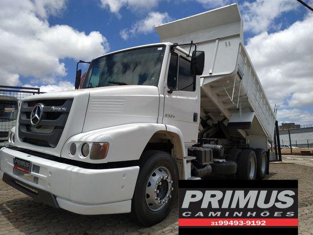 Caminhão MB 2324 Caçamba