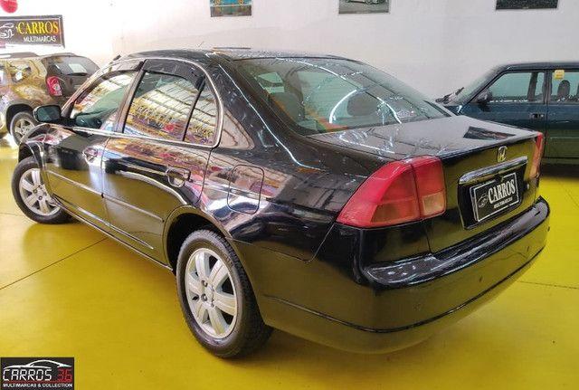 Honda civic sedan lx 1.7 16v (aut) - Foto 4