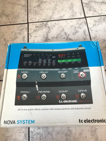 PEDALEIRA NOVA SYSTEM - tc eletronic - Foto 3