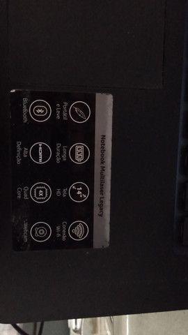 Notebook Multilaser usado - Foto 3