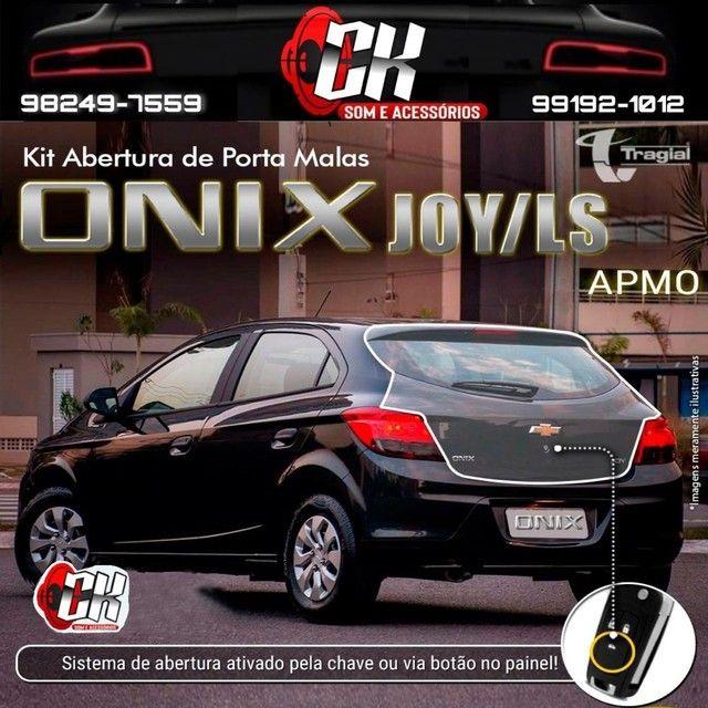Kit Abertura De Porta Malas Tragial Gm Chevrolet Prisma Onix Joy