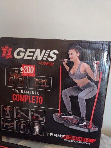 Aparelho de Ginástica Genis fitness novo na caixa  - Foto 2