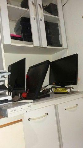 Manutenção e venda de monitor Led e LCD