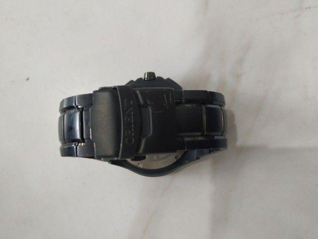 Relógio orient flytech titânio - Foto 4