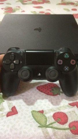 PlayStation 4 slim 1 terabyte versão 2214B Novo - Foto 5