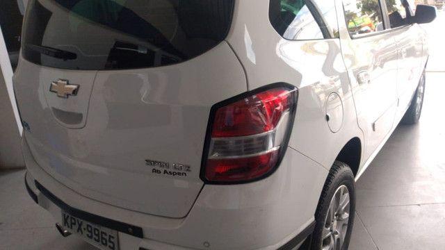 Spin LTZ Automático 2014 1.8 Completo + GNV + IPVA 2021 Pago - Foto 5