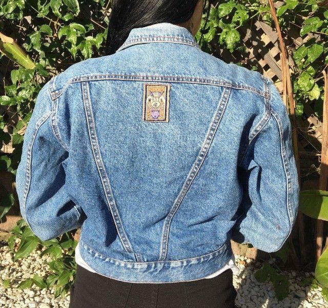 Jaqueta Jeans Vintage anos 90 - Foto 2