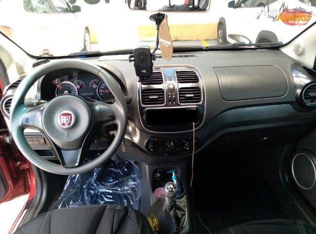 Fiat Grand Siena Attractive 1.4, 2012/2013, Vermelho, Completo, Extra. - Foto 10
