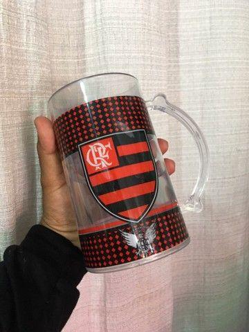 Caneca do Flamengo com Gel - Foto 2
