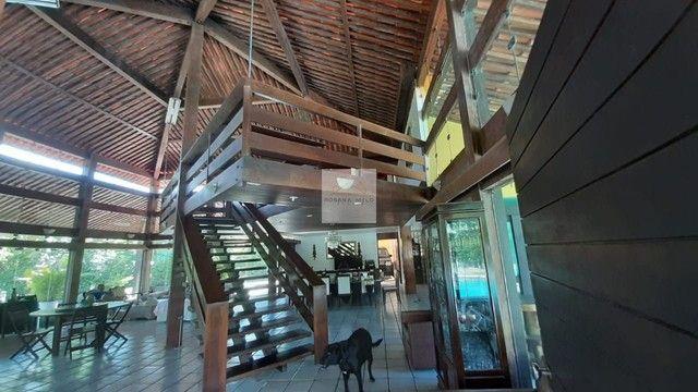 Mansão no Cond Torquato de castro aldeia/598m/ 4 suites/espaço gourmet com piscina/luxo - Foto 10